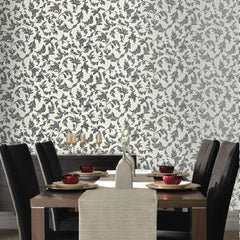 Wallpaper - Charmed White And Black Wallpaper