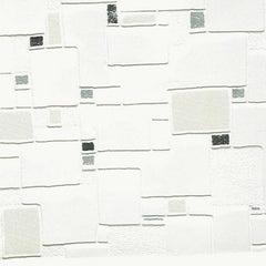 Wallpaper - Contour Spa Wallpaper - Black/White