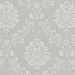 Wallpaper - Costello Grey And White Wallpaper