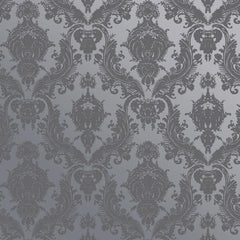Damsel Textured Temporary Wallpaper - Blue Pearl