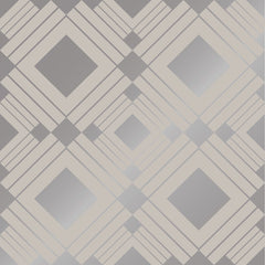 Wallpaper - Diamond Taupe Temporary Wallpaper