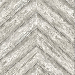 Herringbone Temporary Wallpaper - Ash