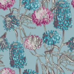 Wallpaper - Hydrangea Temporary Wallpaper - Azure