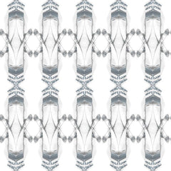 Kaleidoscope Temporary Wallpaper - Zinc