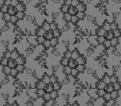 Wallpaper - Lace Textured Temporary Wallpaper - Smokey Black