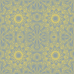 Wallpaper - Medallion Sunrise Temporary Wallpaper