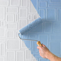 Paintables Superfresco Wallpaper - Large Squares Pattern