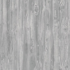 Woodgrain Textured Temporary Wallpaper - Pewter