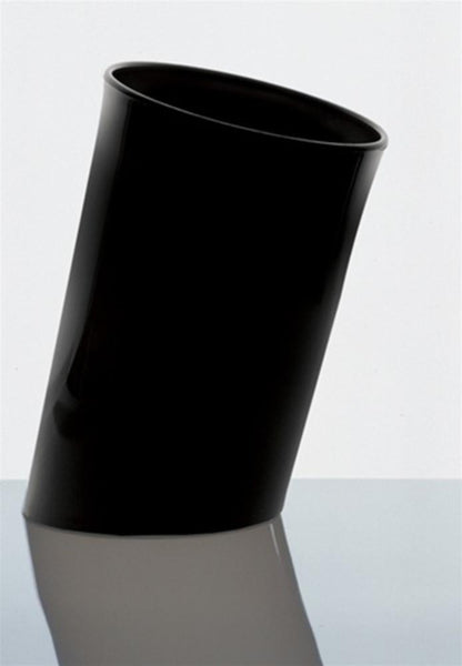 Wastebaskets - In Attesa Wastepaper Basket - Black