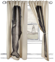 Window Treatments - Thomaspaul Moby Flax Window Curtains