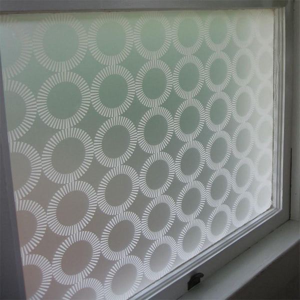 Window Treatments - White Orba Adhesive Film