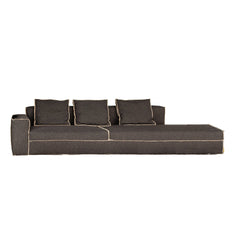 235 Xsmall 1-Seat + Terminal Element Sectional