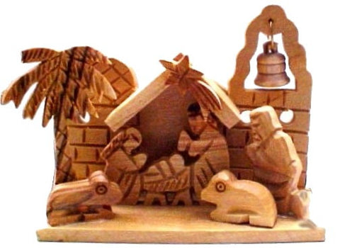 Miniature Nativity Set From Bethlehem - powerofchrist