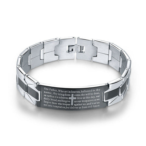 Stainless Steel Bracelet For Men - powerofchrist