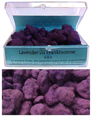 Lavender and Frankincense Incense - powerofchrist