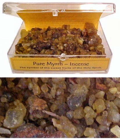 Pure Myrrh - Incense - powerofchrist