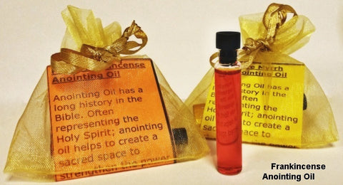 Frankincense Holy Anointing Oil - powerofchrist