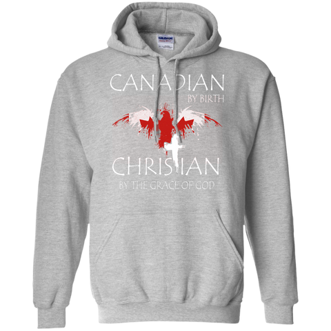 Canadian By Birth Christian By The Grace Of GOD Hoodie For Men - powerofchrist