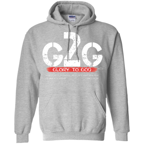 Glory 2 God Hoodie For Men - powerofchrist