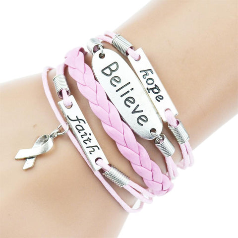 Women's Multilayer Braided Bracelet - powerofchrist