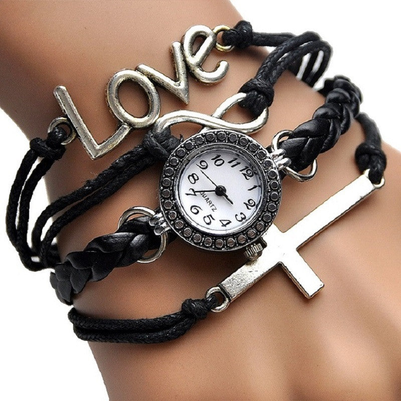 Fashionable Cross Bracelet Watch - powerofchrist