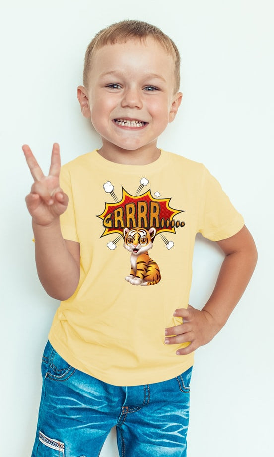 Beautiful Tiger T-Shirt For Toddlers - powerofchrist