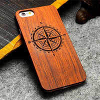 Endemnite - Full Cover Wood Case For Apple iPhone 6/6S - Subtle Fit