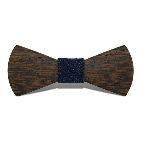 The Wing III - Fashion Wenge Wood, Pattern Knot, Bow Tie