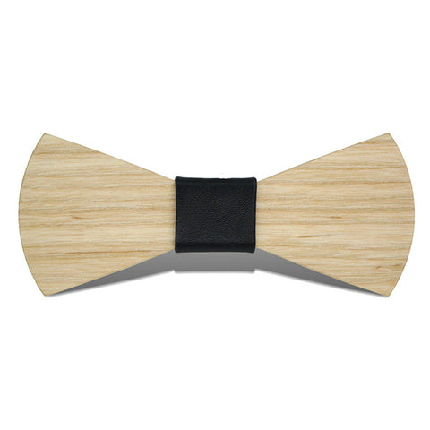 The Wing - Fashion Ash Wood, Pattern Knot, Bow Tie