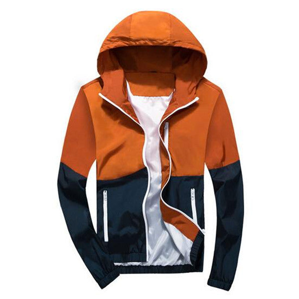 Revolutio - Men's Sportswear Thin Windbreaker Jacket