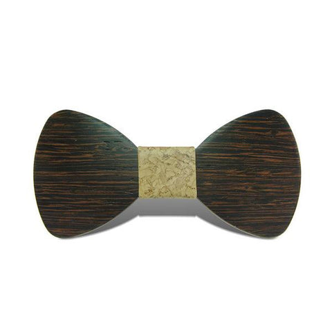 Banquet IV - Fashion Wenge Wood, Pattern Knot, Bow Tie | Subtle Fit