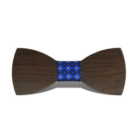 Bumblebee IV - Fashion Wenge Wood, Pattern Knot, Bow Tie
