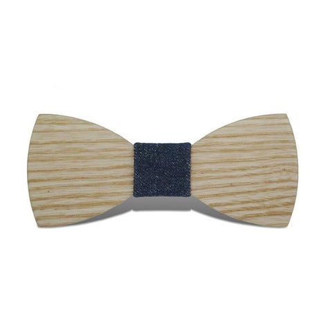 Bumblebee III - Fashion Ash Wood, Pattern Knot, Bow Tie | Subtle Fit