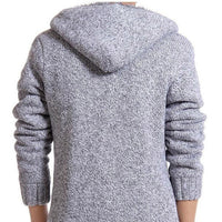 Retiraq - Men's Winter Fur Hooded Sweater