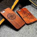 Endemnite - Full Cover Wood Case For Apple iPhone 6S Plus - Subtle Fit