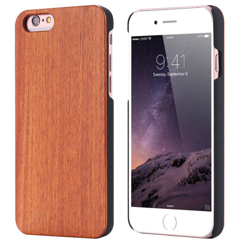 Katiale - Full Cover Cherry Wood Case For Apple iPhone 6 and greater - Subtle Fit