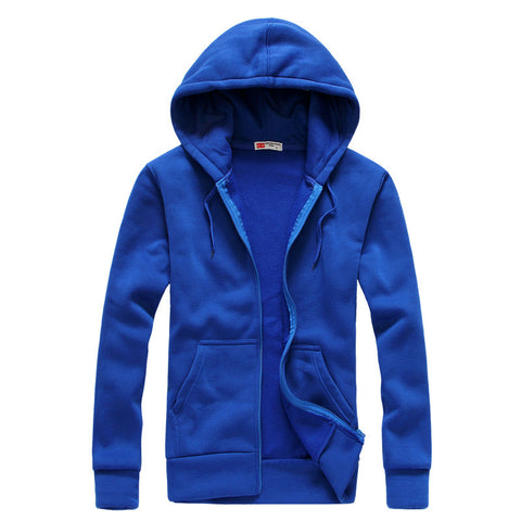 Chirak - Men's Casual Zipper Hoodie Sweater