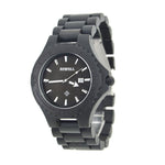 Abletter - Men's Black Wood Analog Wristwatch | Subtle Fit