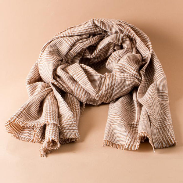 The Simone Squared Scarf