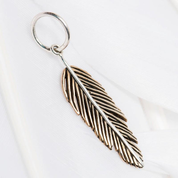 """Feather"" Charm"