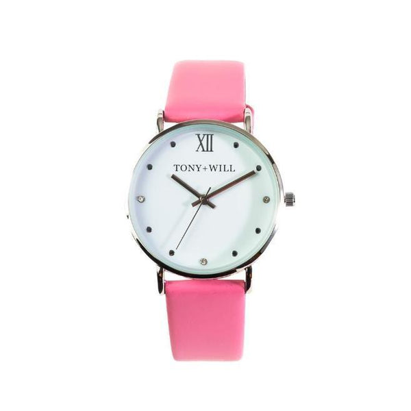 Tony + Will Jewel Pink, Rose Gold and White Watch