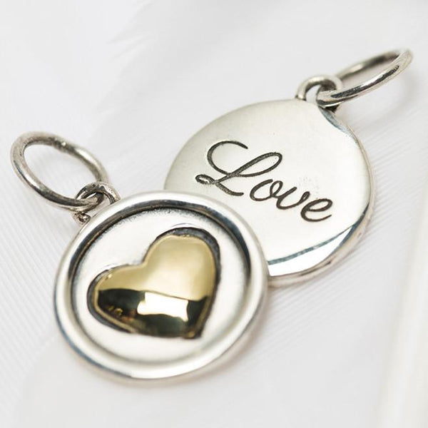 Small Love Heart Charm