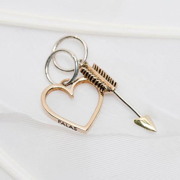 """Heart and Arrow"" Charm"