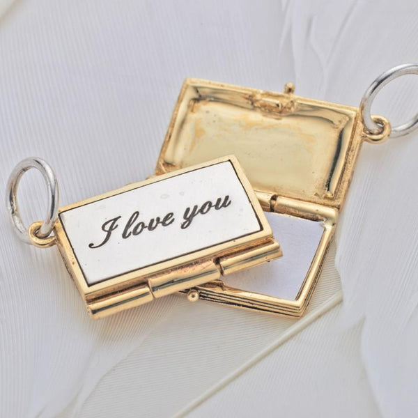 """I Love You Case"" Charm"