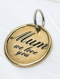 """Mum We Love You"" Charm"