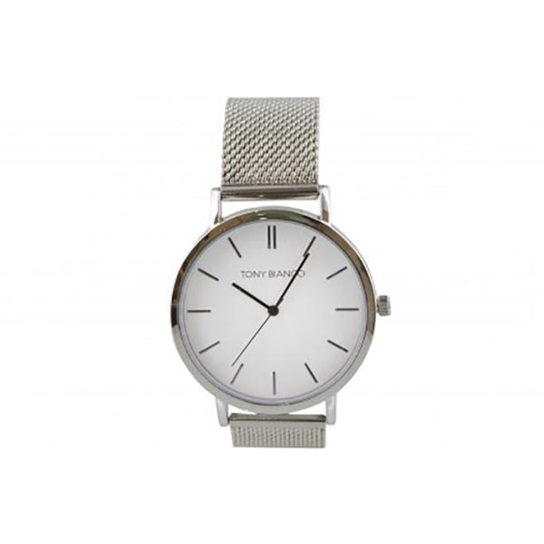 Tony Bianco Windsor Silver Mesh Watch