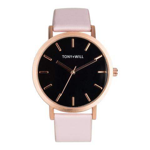 Tony + Will Black, Rose Gold and Pink Watch