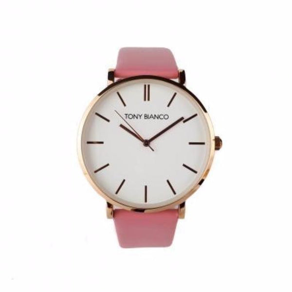 Tony Bianco Williams Pink, Rose Gold and White Watch
