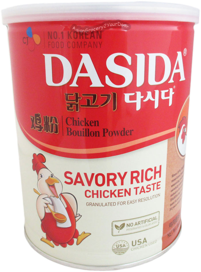 Dasida - Chicken Bouillon Powder - 35.27 oz / 1 kg - Asiangrocery2yourdoor