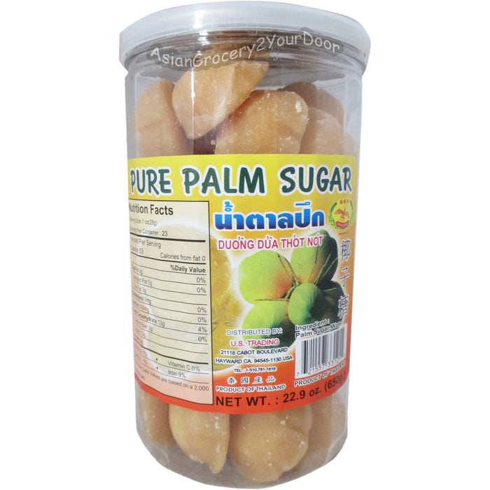 Dragonfly Brand - Pure Palm Sugar - 22.9 oz / 650 g - Asiangrocery2yourdoor
